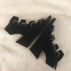 Dolce Vita Buckle Wedges
